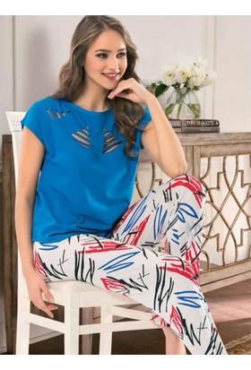Nbb 66256 Pijama Takımı Mavi