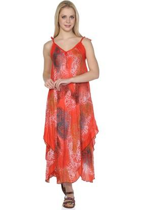 Eliş Şile Bezi Afrodit Elbise Şal Desen