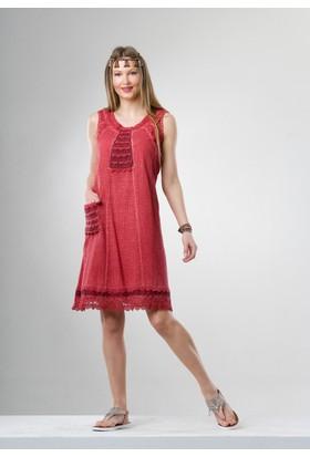 Eliş Şile Bezi Hera Elbise