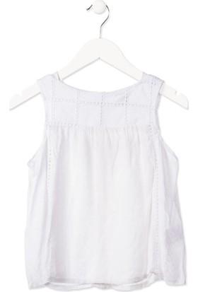 Losan Kız Çocuk Kolsuz Gömlek