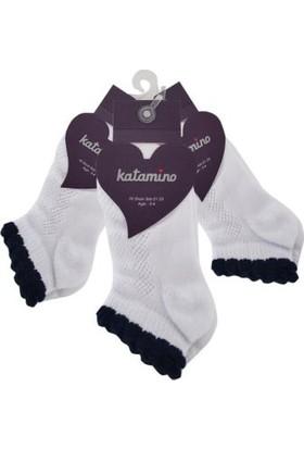 Artı & Katamino Kız Çocuk Look File Babet Çorap