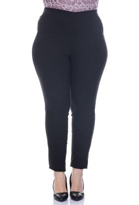 Myline Beli Lastikli Streç Pantolon