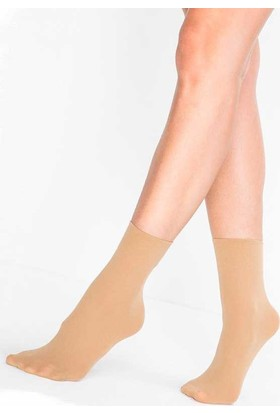 Mite Love 40 Denye Soket Çorap Ten