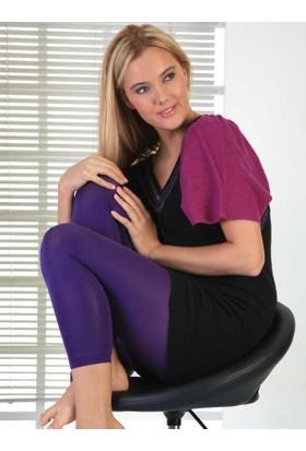 Mite Love Külotlu Termal Tayt Kadın Giyim Lacivert