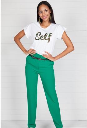 Pinkmark Kadın Yeşil Pantolon