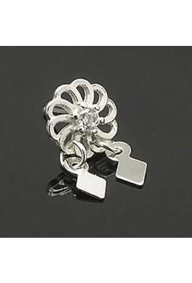 Ninova Silver Cgr1390 Sallantılı Çiçek Gümüş Bayan Hızma