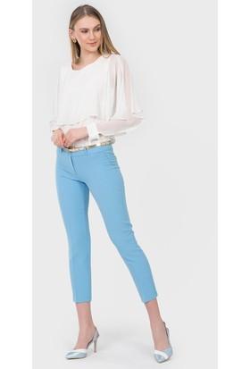 İroni Dar Paça Mavi Pantolon - 1581-891A
