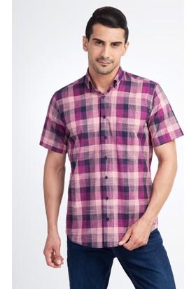 Kiğılı Kısa Kol Ekose Gömlek