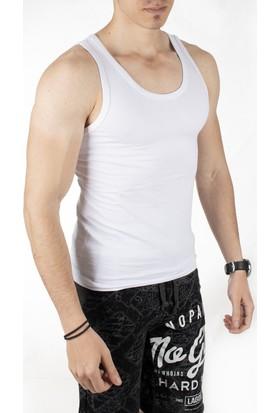Deepsea Beyaz Ribanalı Erkek Atlet 1707148