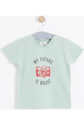 Soobe Erkek Çocuk T-Shirt Yeşil