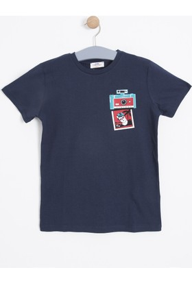 Soobe Erkek Çocuk T-Shirt Lacivert