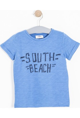 Soobe Erkek Çocuk T-Shirt Mavi