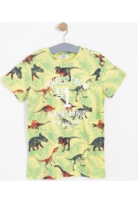 Soobe Erkek Çocuk T-Shirt Sarı