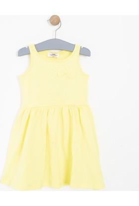 Soobe Kız Çocuk Elbise Sarı