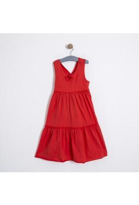 Soobe Kız Çocuk Elbise Kırmızı