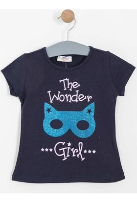 Soobe Kız Çocuk T-Shirt Lacivert