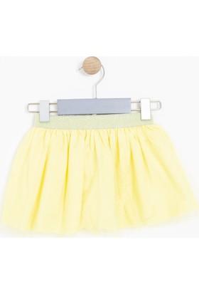 Soobe Kız Bebek Etek Sarı