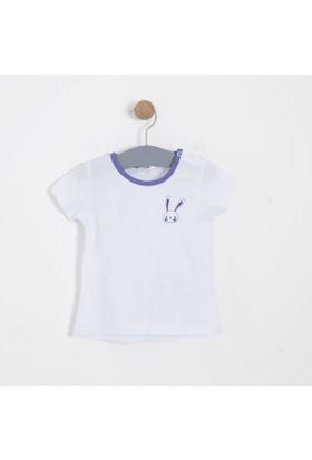 Soobe Kız Bebek T-Shirt Beyaz
