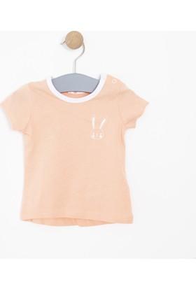 Soobe Kız Bebek T-Shirt Somon