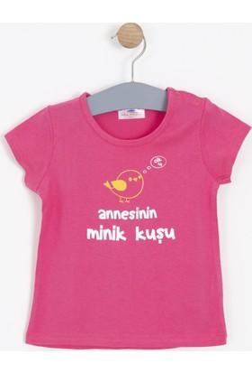 Soobe Kız Bebek T-Shirt Pembe