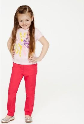 Soobe Kız Çocuk T- Shirt T.Pembe