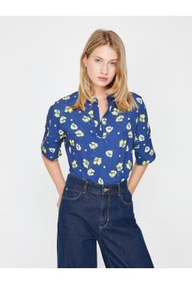 Koton Çiçek Desenli Bluz