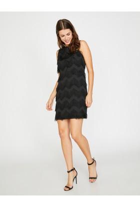 Koton Kadın İp Detaylı Elbise