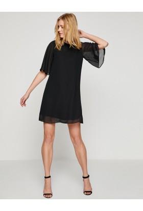 Koton Tül Detaylı Elbise