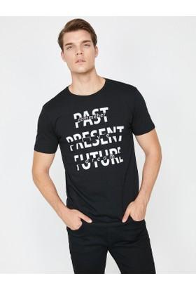 Koton Yazılı Baskılı T-Shirt