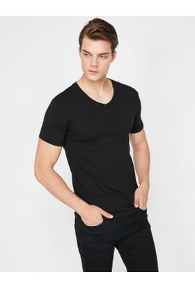 Koton V Yaka Tshirt