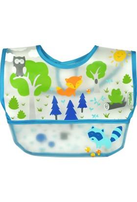 iplay Su Geçirmez Eva Kumaş Cırtlı Bebek Mama Önlüğü