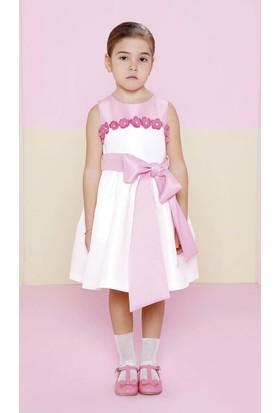 Goose Kız Çocuk Robasi Çiçekli Elbise