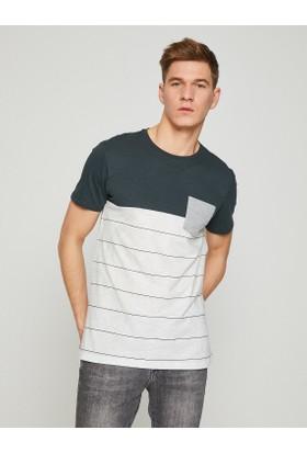 Koton Cep Detaylı Tshirt