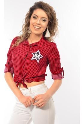 Modaplaza Bayan Armalı Gömlek 3340