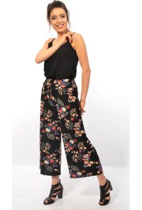 Golden Apple Bayan Çiçek Desenli Pantolon 3030