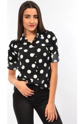 Modaplaza Bayan Desenli Gömlek 3442