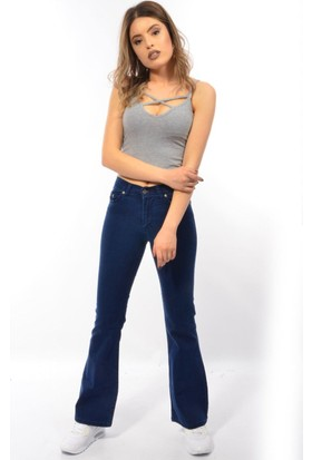 Starlife Bayan İspanyol Paça 1445 Kot Pantolon
