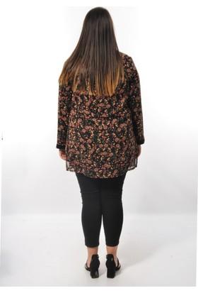 Modaplaza Bayan Şifon İkili Bluz Takım 1016