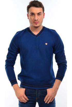 Golf Port Erkek V Yaka Sweatshirt M549