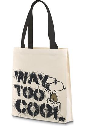 Snoopy Cool Bez Çanta