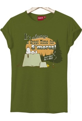 Snoopy S'Mores Kadın Tshirt