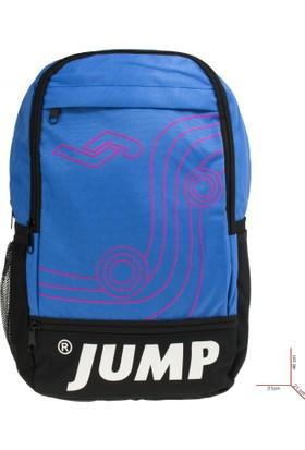 Jump 1057 8K Okul Mavi Unisex Çanta