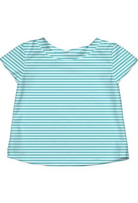 iplay Upf 50+ Güneş Korumalı Kısa Kollu Deniz Bebek T-Shirt