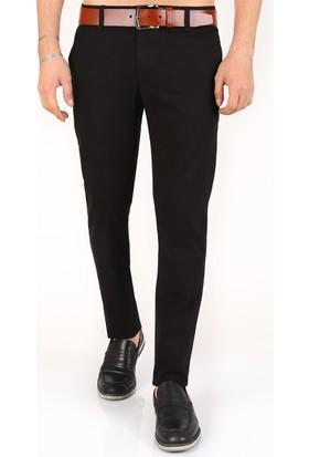 Madmext Likralı Gabardin Siyah Pantolon 2175