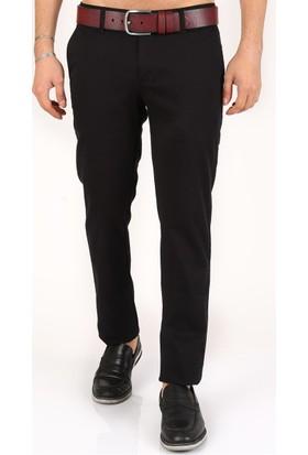 Madmext Likralı Gabardin Siyah Pantolon 2049