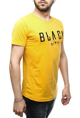 Madmext Black City Hardal T-Shirt 2492