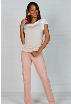 Pinkmark Kadın Somon Pantolon