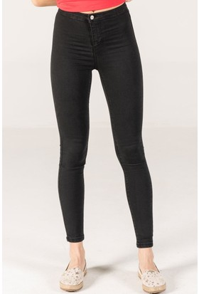 Vena Merry Jegging Black Denim Pantolon