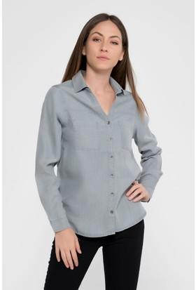 Vena Maddy Grey Denim Gömlek