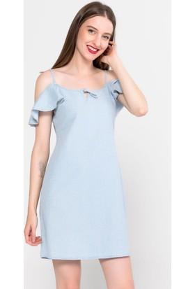 de6c3cfe9bee0 Vena Talia Sky Blue Çiçekli Elbise Vena Talia Sky Blue Çiçekli Elbise ...